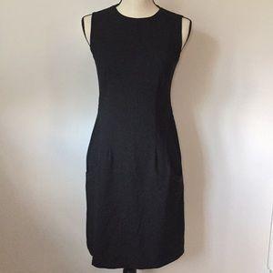 J. McLaughlin Black Dress With Pockets